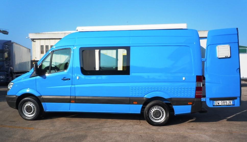 Ufficio mobile tercam allestimento veicoli industriali for Allestimento ufficio